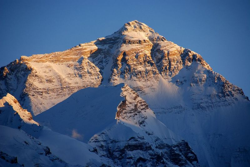 32 Mount Everest North Face From Rongbuk At Sunset(1)