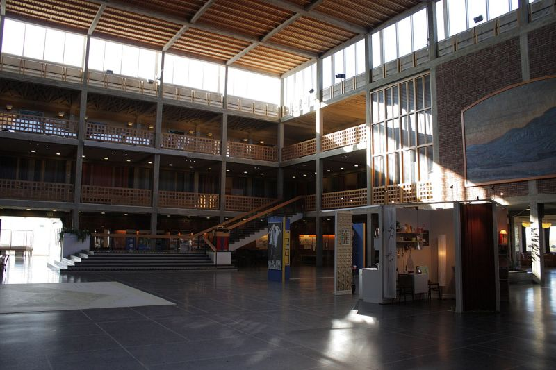 Kiruna_stadshus_interior